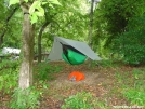 Michele's New Home by Michele in Hammock camping