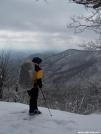 West toward Cowrock Mtn, Feb 2006 by Yonah Ada-Hi in Section Hikers