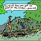 Limbo by attroll in Boots McFarland cartoons