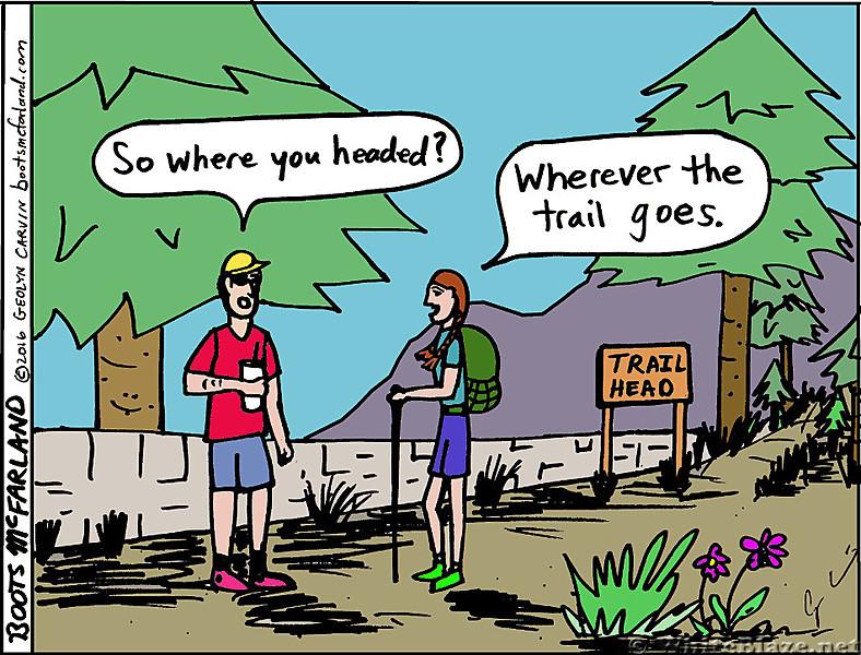 Trail Goes