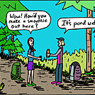 Pond water by attroll in Boots McFarland cartoons