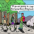 Boy Scouts by attroll in Boots McFarland cartoons