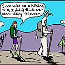 Bunny hiker