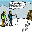 Abominable snowman by attroll in Boots McFarland cartoons