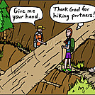 Hiking partners by attroll in Boots McFarland cartoons
