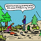 Hike sleep by attroll in Boots McFarland cartoons