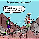 Volcano hike by attroll in Boots McFarland cartoons