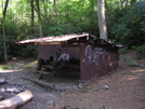 Curley Maple Gap Shelter, TN, 9/30/10 by mountain squid in North Carolina & Tennessee Shelters