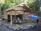 Curley Maple Gap Shelter, TN 10/6/10 by mountain squid in North Carolina & Tennessee Shelters