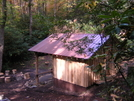 New Curley Maple Gap Shelter, TN 10/13/10 by mountain squid in North Carolina & Tennessee Shelters