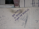Graffiti At Double Springs Shelter, TN 5/9/11 by mountain squid in North Carolina & Tennessee Shelters