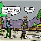 Hefty rain gear