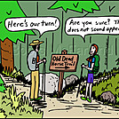 Dead Horse Trail by attroll in Boots McFarland cartoons