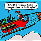Santa cheaper by attroll in Boots McFarland cartoons