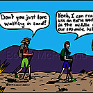 Sand by attroll in Boots McFarland cartoons