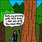 Tree photo by attroll in Boots McFarland cartoons