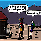 No trees by attroll in Boots McFarland cartoons