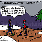 Thinking pie by attroll in Boots McFarland cartoons