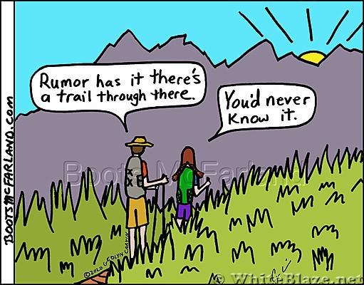 Rumor trail