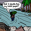TP river by attroll in Boots McFarland cartoons