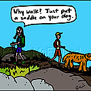Big dog by attroll in Boots McFarland cartoons