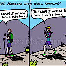 Trail run by attroll in Boots McFarland cartoons