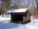 Brink Shelter by snowshoe in New Jersey & New York Shelters