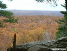 View along the AT in Stokes SF by snowshoe in Views in New Jersey & New York