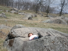 Chillin' @ The Devil's Den/gettysburg by k-n in Special Points of Interest