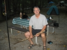 BrotherAL Resting at Camp (Elkmont/GSMNP) 8-23-07