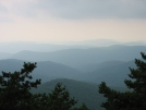 Blue Ridge from Basin Cove Overlook by brotheral in Views in North Carolina & Tennessee