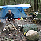 Site at Hurricane Campground, VA, June 2012