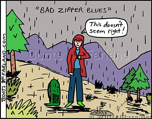 Bad zipper