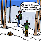 Trail snow by attroll in Boots McFarland cartoons