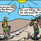 Lone shade by attroll in Boots McFarland cartoons