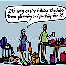 Packing by attroll in Boots McFarland cartoons
