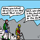 Fifty mile day by attroll in Boots McFarland cartoons