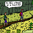 Trench trail by attroll in Boots McFarland cartoons