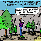 Pray snow by attroll in Boots McFarland cartoons