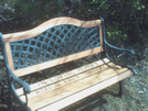 """Ron Frey """"vango"""" Memorial Bench by Awol2003 in Sign Gallery"""