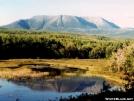 Mount Katahdin by veteran in Maine Trail Towns