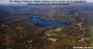 Monson Maine aerial view