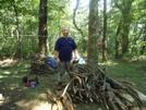 Atmonk On The Appalachian Trail In August 2010 by Retsuzen in Whitley Gap Shelter