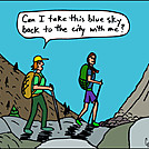 Blue Sky by attroll in Boots McFarland cartoons