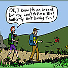 Butterfly by attroll in Boots McFarland cartoons