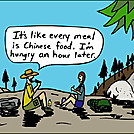 Chinese Food by attroll in Boots McFarland cartoons