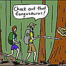 Fungus by attroll in Boots McFarland cartoons