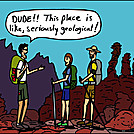 Geological by attroll in Boots McFarland cartoons