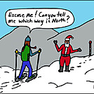 North by attroll in Boots McFarland cartoons