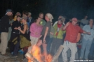 More and more primal around the bonfire by Pack Mule in 2006 Trail Days